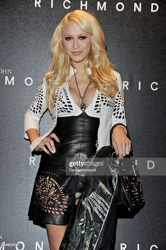 Singer Kaya Jones attends the John Richmond Fashion Show as part of Milan Fashion Week Womenswear Autumn/Winter 2011 on February 23, 2011 in Milan, Italy.