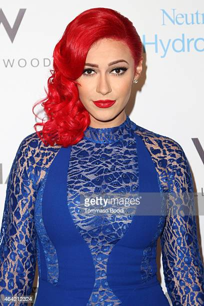Singer Kaya Jones attends the Neutrogena Hydro Boost MyHabit With OKTV Oscars Viewing Party on February 22 2015 in Hollywood California