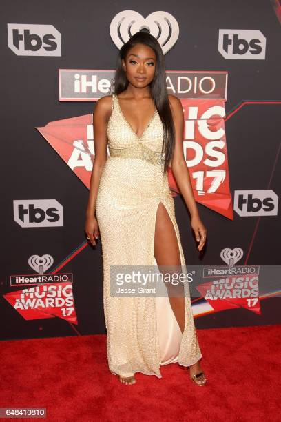 Singer Kayla Brianna attends the 2017 iHeartRadio Music Awards which broadcast live on Turner's TBS TNT and truTV at The Forum on March 5 2017 in...