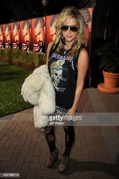 Singer Ke$ha arrives at HBO's East Bound And Down Season 2 premiere held at Paramount Studios on September 16 2010 in Los Angeles California