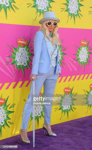 US singer Ke$ha arrives at Nickelodeon's 26th Annual Kids' Choice Awards at USC Galen Center in Los Angeles USA on 23 March 2013 Photo Hubert Boesl |...