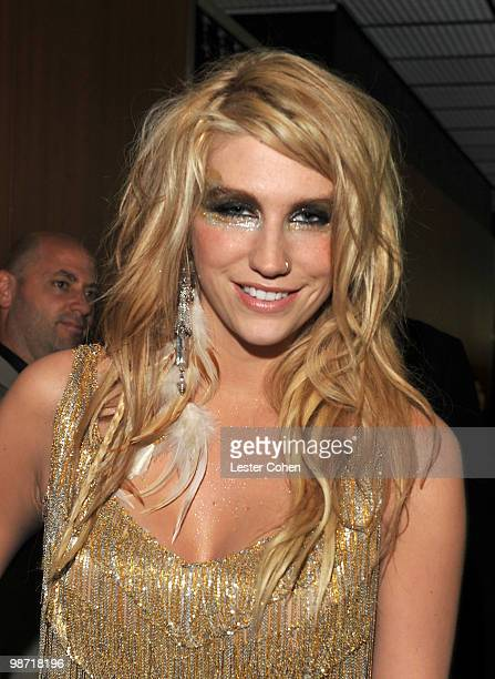 Singer Ke$ha attends the 52nd Annual GRAMMY Awards held at Staples Center on January 31 2010 in Los Angeles California
