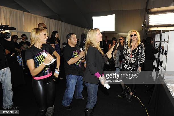 Singer Ke$ha attends Ubisoft's Just Dance 2 at the American Music Awards gifting lounge at LA Live on November 18 2010 in Los Angeles California
