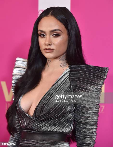Singer Kehlani arrives at the Billboard Women In Music 2017 at The Ray Dolby Ballroom at Hollywood Highland Center on November 30 2017 in Hollywood...