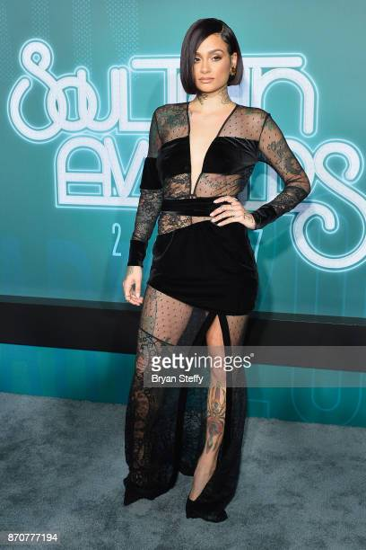 Singer Kehlani attends the 2017 Soul Train Music Awards at the Orleans Arena on November 5 2017 in Las Vegas Nevada