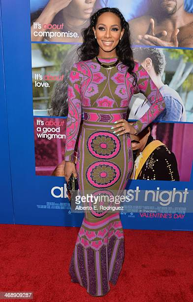 """Singer Keir Hilson arrives at The Pan African Film & Arts Festival Premiere of Screen Gems' """"About Last Night"""" at ArcLight Cinemas Cinerama Dome on..."""