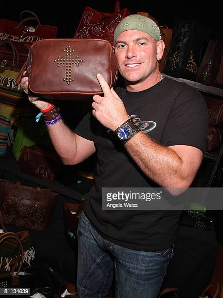 Singer Keith Anderson attends the Backstage Creations celebrity retreat held during the 43rd Academy of Country Music Awards at the MGM Grand Garden...