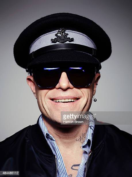 Singer Keith Flint of electronic dance music group the Prodigy is photographed for Q magazine on February 24 2015 in London England