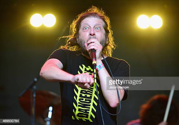 Singer Keith Morris of OFF! performs onstage during day 3 of the 2015 Coachella Valley Music & Arts Festival at the Empire Polo Club on April 12,...