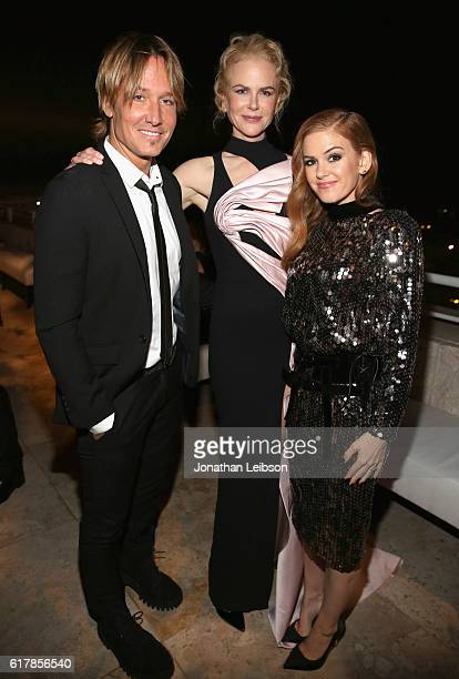 Singer Keith Urban actresses Nicole Kidman and Isla Fisher attend the Second Annual InStyle Awards presented by InStyle at Getty Center on October 24...
