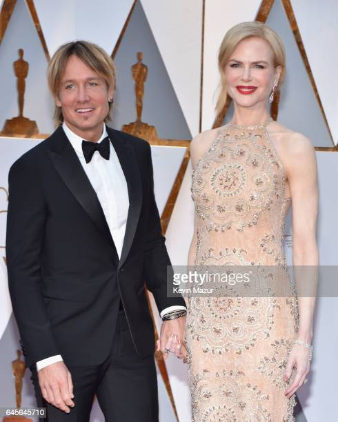 Singer Keith Urban and actor Nicole Kidman attend the 89th Annual Academy Awards at Hollywood Highland Center on February 26 2017 in Hollywood...