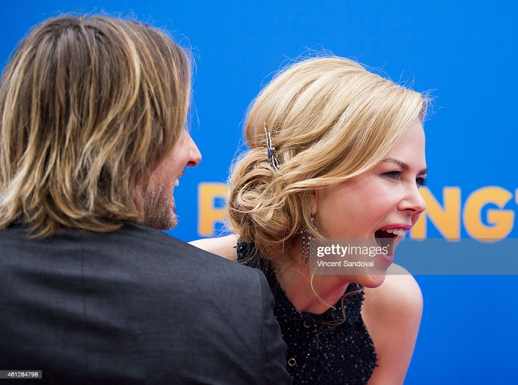 Singer Keith Urban (L) and actress Nicole Kidman attend the Los Angeles premiere of 'Paddington' at TCL Chinese Theatre IMAX on January 10, 2015 in Hollywood, California.
