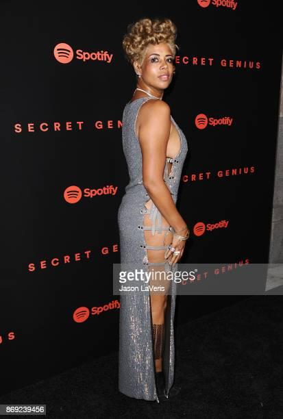 Singer Kelis attends Spotify's inaugural Secret Genius Awards at Vibiana Cathedral on November 1 2017 in Los Angeles California