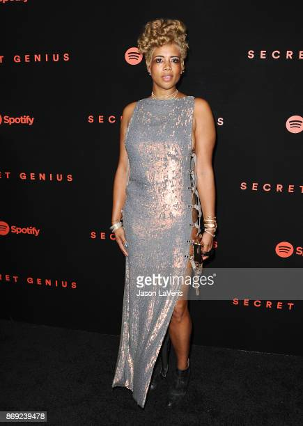 Singer Kelis attends Spotify's inaugural Secret Genius Awards at Vibiana Cathedral on November 1 2017 in Los Angeles California