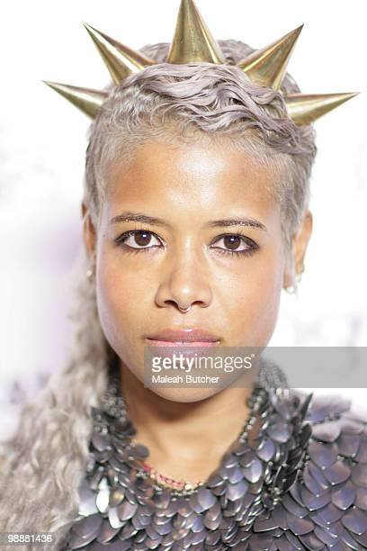 Singer Kelis attends The Film Lounge at House of Hype on January 22 2010 in Park City Utah