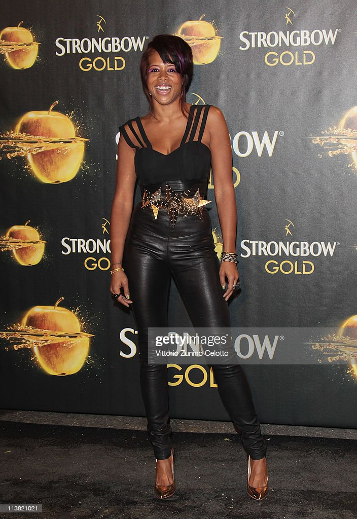 Singer Kelis attends 'The Gold Experience' red carpet on May 6, 2011 in Milan, Italy.