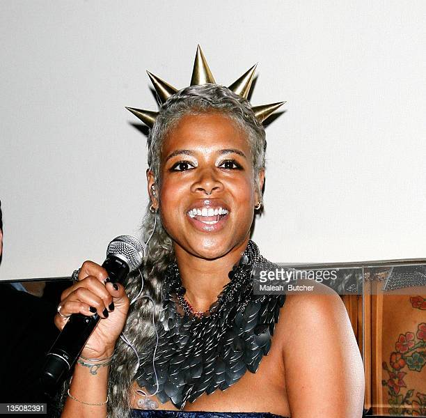 Singer Kelis performs at The Film Lounge at House of Hype on January 22 2010 in Park City Utah