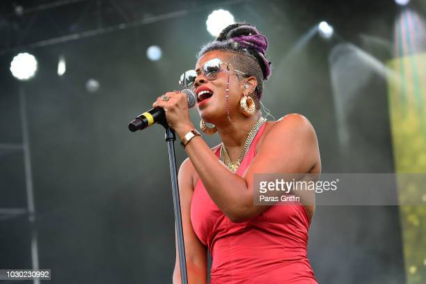Singer Kelis performs onstage during 2018 ONE Musicfest at Atlanta Central Park on September 9 2018 in Atlanta Georgia