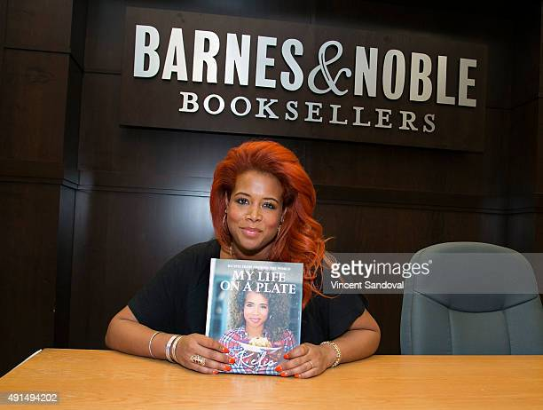 Singer Kelis signs and discusses her new book 'My Life On A Plate' at Barnes Noble at The Grove on October 5 2015 in Los Angeles California
