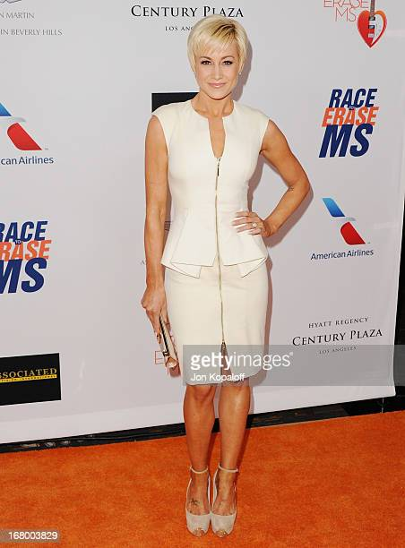 Singer Kellie Pickler arrives at the 20th Annual Race To Erase MS 'Love To Erase MS' Gala at the Hyatt Regency Century Plaza on May 3 2013 in Century...