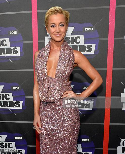 Singer Kellie Pickler attends the 2013 CMT Music awards at the Bridgestone Arena on June 5 2013 in Nashville Tennessee