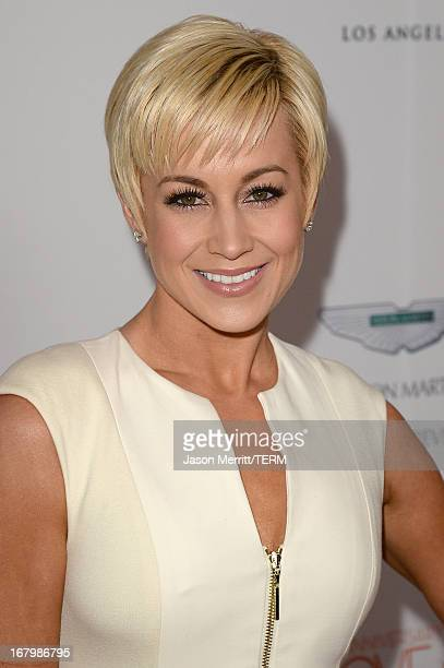 Singer Kellie Pickler attends the 20th Annual Race To Erase MS Gala Love To Erase MS at the Hyatt Regency Century Plaza on May 3 2013 in Century City...