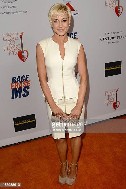 Singer Kellie Pickler attends the 20th Annual Race To Erase MS Gala 'Love To Erase MS' at the Hyatt Regency Century Plaza on May 3 2013 in Century...