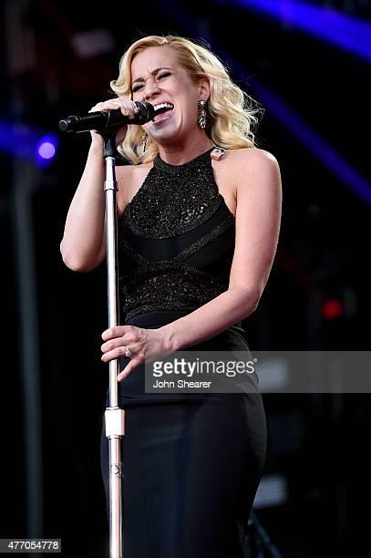 Singer Kellie Pickler performs onstage during the 2015 CMA Festival on June 13, 2015 in Nashville, Tennessee.
