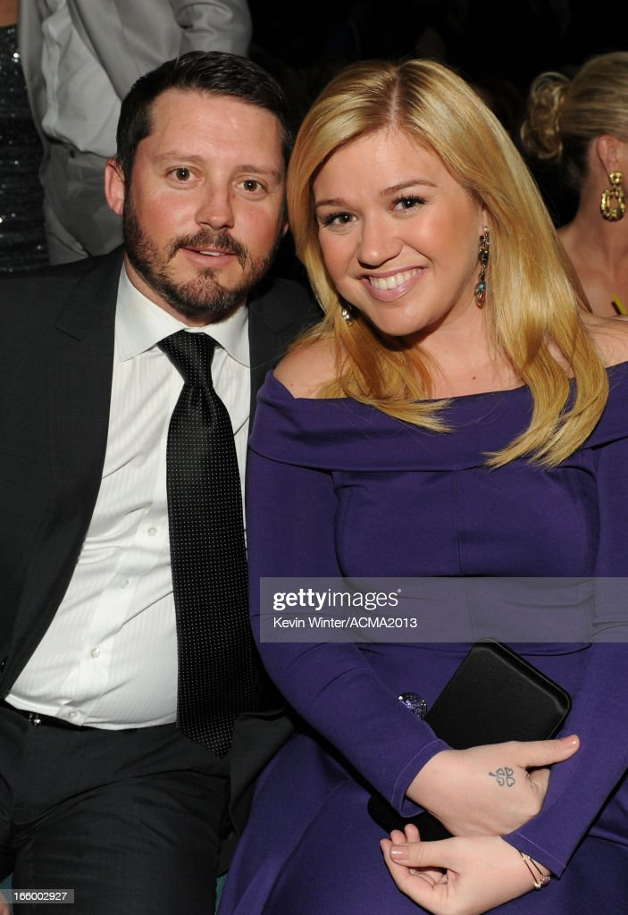 FILE: Kelly Clarkson And Husband Brandon Blackstock Welcome A Baby Girl