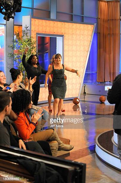 """Singer Kelly Clarkson appeared today on """"The View."""" """"The View"""" airs Monday-Friday on the Walt Disney Television via Getty Images Television Network...."""