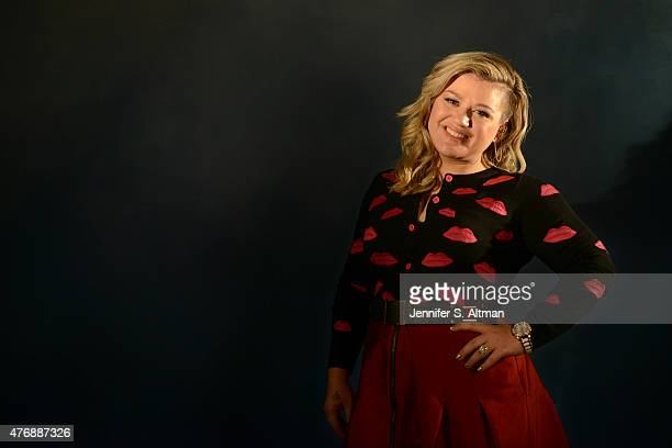 Singer Kelly Clarkson is photographed for Los Angeles Times on March 1 2015 in New York City PUBLISHED IMAGE