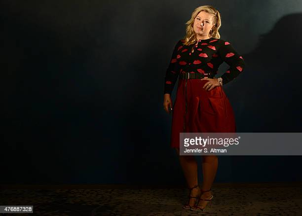 Singer Kelly Clarkson is photographed for Los Angeles Times on March 1 2015 in New York City