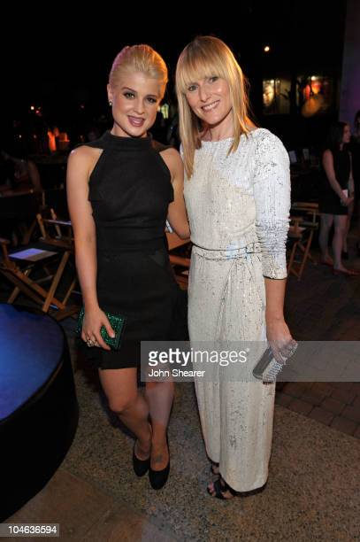 Singer Kelly Osbourne and EditorinChief of Teen Vogue Amy Astley inside at The 8th Annual Teen Vogue Young Hollywood Party at Paramount Studios on...