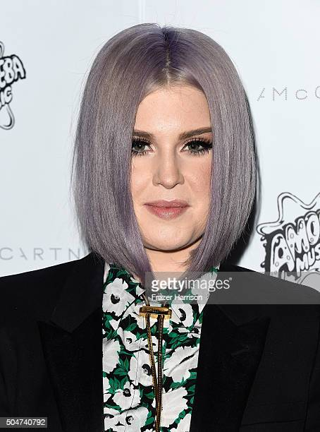 Singer Kelly Osbourne arrives at Stella McCartney Autumn 2016 Presentation at Amoeba Music on January 12 2016 in Los Angeles California