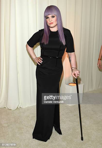 Singer Kelly Osbourne attends Bulgari at the 24th Annual Elton John AIDS Foundation's Oscar Viewing Party at The City of West Hollywood Park on...