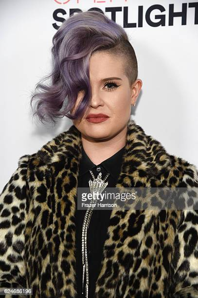 Singer Kelly Osbourne attends Open Spotlight at The Oasis during Airbnb Open LA Day 3 on November 19 2016 in Los Angeles California