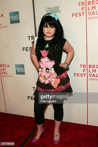 """Singer Kelly Osbourne attends the premiere of """"The Muppets Wizard of Oz"""" at the Tribeca FAMILY Festival. The FAMILY Street Fair will be this..."""