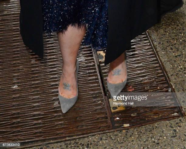 Singer Kelly Osbourne is seen outside 'Good Morning America' on April 25 2017 in New York City