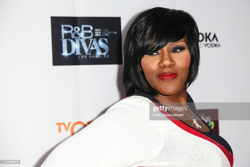 Singer Kelly Price attends the series premiere of TV One's 'R&B Divas LA' at The London Hotel on July 9, 2013 in West Hollywood, California.