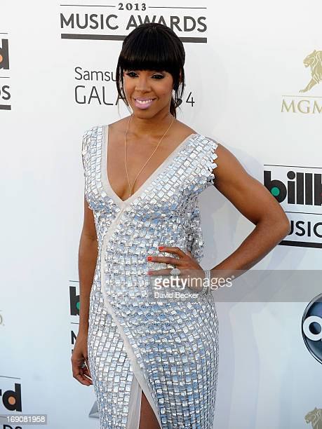 Singer Kelly Rowland arrives at the 2013 Billboard Music Awards at the MGM Grand Garden Arena on May 19 2013 in Las Vegas Nevada