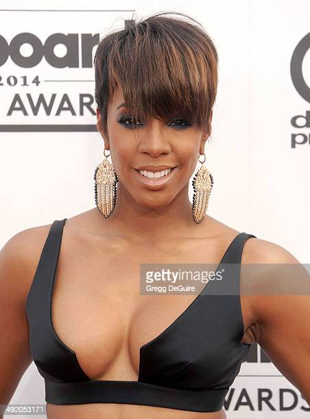 Singer Kelly Rowland arrives at the 2014 Billboard Music Awards at the MGM Grand Garden Arena on May 18 2014 in Las Vegas Nevada