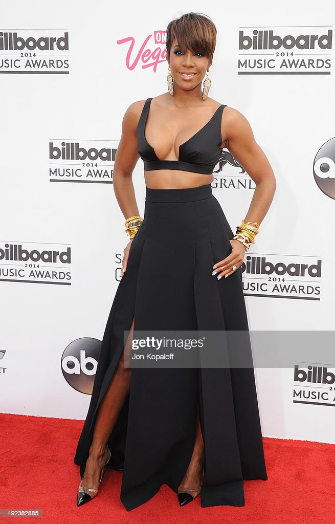 Singer Kelly Rowland arrives at the 2014 Billboard Music Awards at the MGM Grand Hotel and Casino on May 18, 2014 in Las Vegas, Nevada.