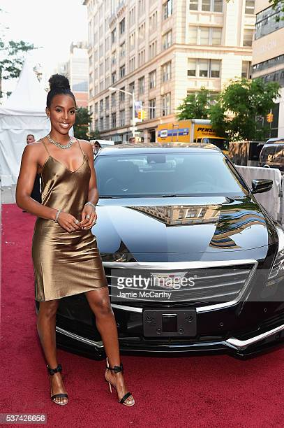 Singer Kelly Rowland attends as Cadillac celebrates the grand opening of Cadillac House on June 1 2016 in New York City