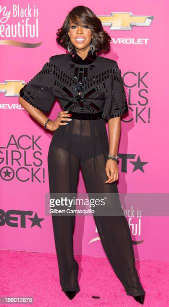 Singer Kelly Rowland attends Black Girls Rock 2013 at New Jersey Performing Arts Center on October 26 2013 in Newark New Jersey