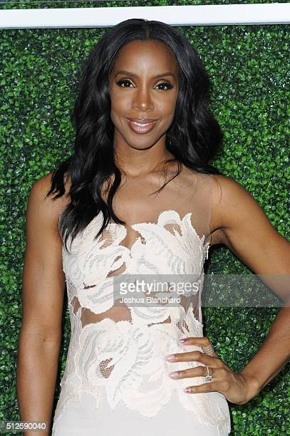 Singer Kelly Rowland attends Common's Toast to the Arts sponsored by Remy Martin at Ysabel on February 26 2016 in West Hollywood California