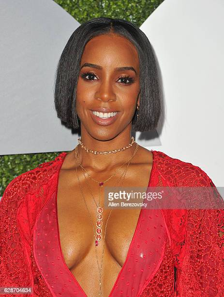 Singer Kelly Rowland attends GQ Men of the Year Party at Chateau Marmont on December 8 2016 in Los Angeles California