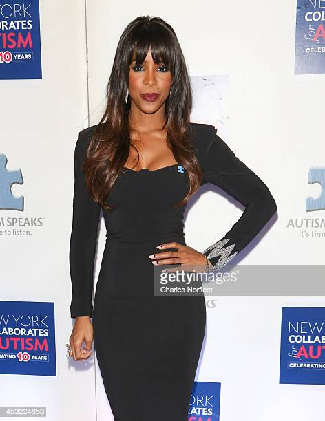 Singer Kelly Rowland attends the 2013 Winter Ball For Autism at the Metropolitan Museum of Art on December 2 2013 in New York City