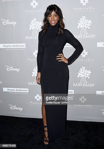 Singer Kelly Rowland attends the 2015 Baby2Baby Gala at 3LABS on November 14 2015 in Culver City California