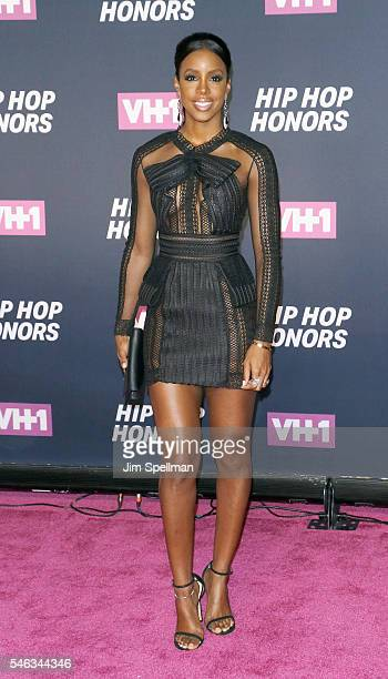 Singer Kelly Rowland attends the 2016 VH1 Hip Hop Honors All Hail The Queens at David Geffen Hall on July 11 2016 in New York City