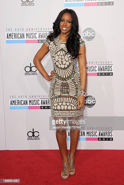 Singer Kelly Rowland attends the 40th American Music Awards held at Nokia Theatre LA Live on November 18 2012 in Los Angeles California